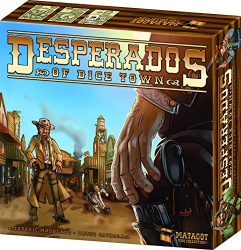 Board Game Desperados Of Dice Town