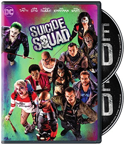 Suicide Squad Robbie Leto Smith DVD Pg13 Special Edition