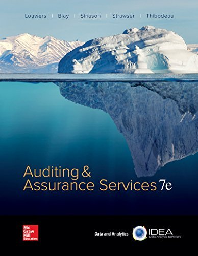 Timothy J. Louwers Auditing & Assurance Services Abridged