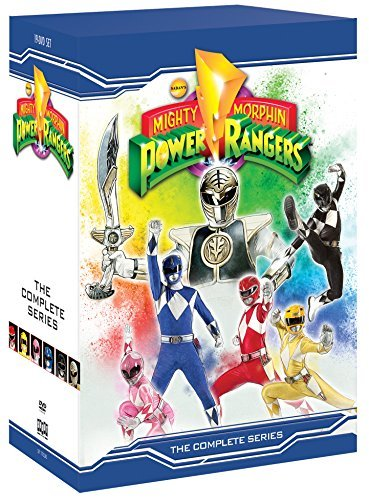 Mighty Morphin Power Rangers Complete Series DVD
