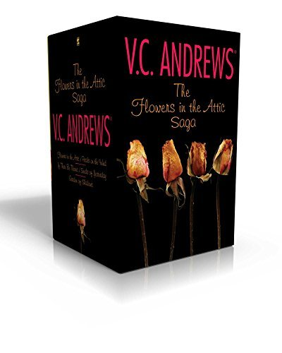 V. C. Andrews The Flowers In The Attic Saga Flowers In The Attic Petals On The Wind; If There Boxed Set