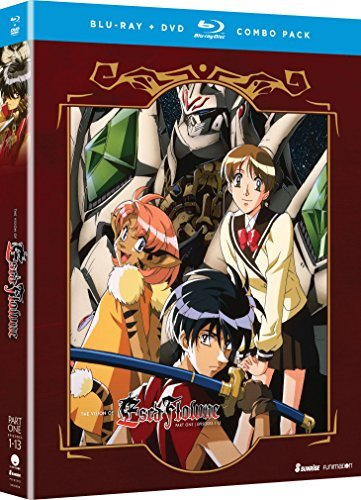 Vision Of Escaflowne Part 1 Blu Ray DVD