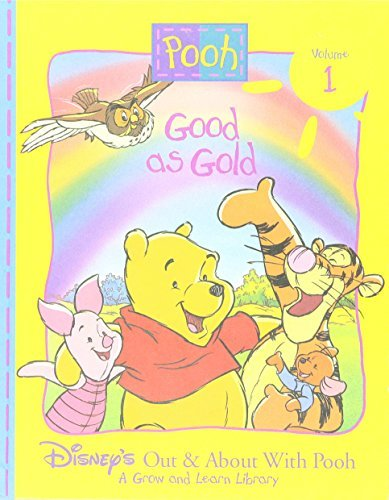 Disney Press Pooh Good As Gold Out & About With Pooh Vol. 1