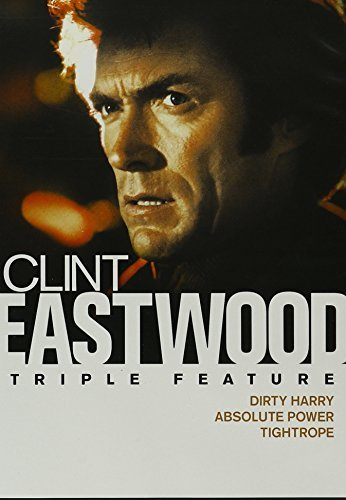 Dirty Harry Absolute Power Tightrope Clint Eastwood Triple Feature
