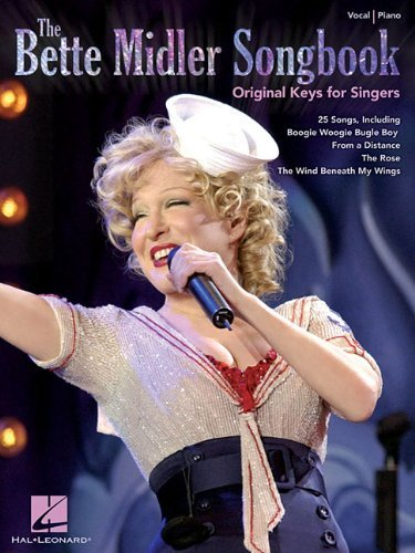 Hal Leonard Publishing Corporation The Bette Midler Songbook Original Keys For Singers