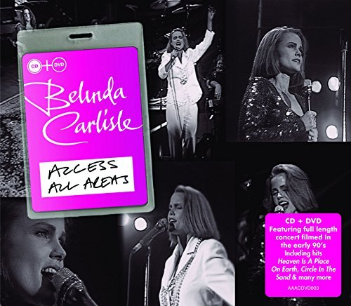 Belinda Carlisle Access All Areas Import Gbr Incl. DVD