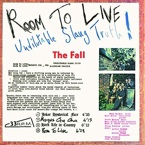 The Fall Room To Live Lp