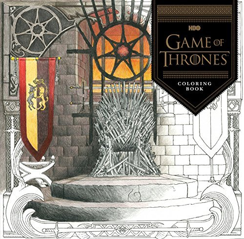 Hbo Hbo's Game Of Thrones Coloring Book