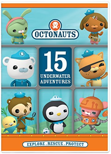 Octonauts 15 Underwater Adventures DVD