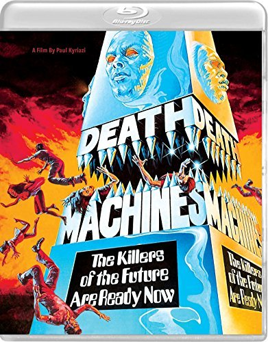 Death Machines Honjo Marchini Blu Ray DVD R