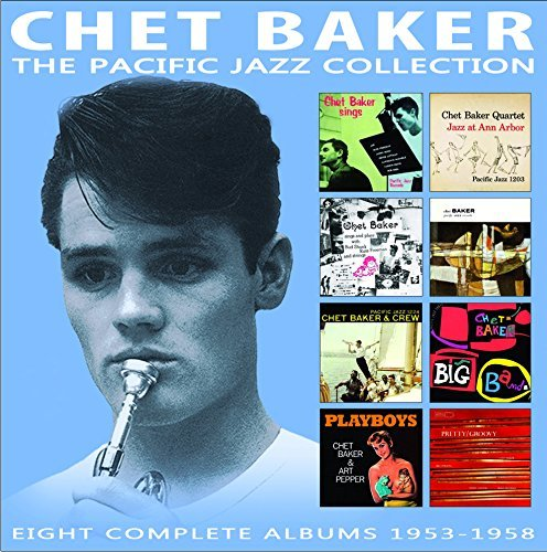 Chet Baker Pacific Jazz Collection 4 Cd's