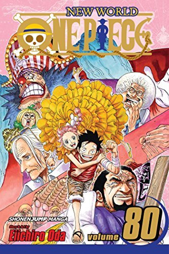 Eiichiro Oda One Piece Vol. 80