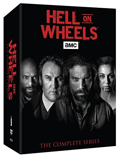 Hell On Wheels The Complete Series DVD