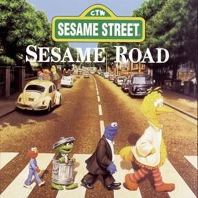 Sesame Street Sesame Road Random Blue Yellow Red Or Green Vinyl Limited To 2000