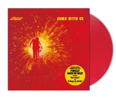 The Chemical Brothers Come With Us (solid Red Vinyl) Indie Exclusive Limited To 1000 Copies