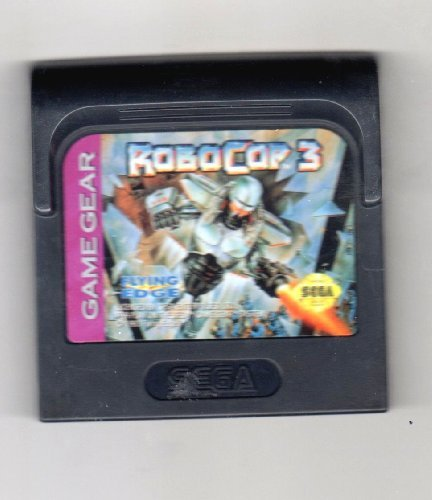 Sega Game Gear Robocop 3