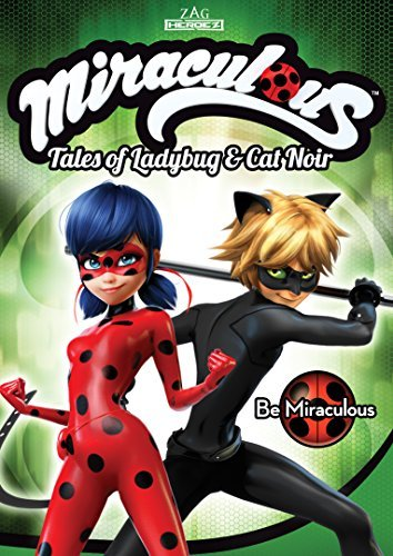 Miraculous Tales Of Ladybug & Cat Noir Be Miraculous DVD