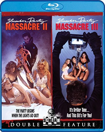 Slumber Party Massacre Ii Slumber Party Massacre Iii Double Feature Blu Ray R