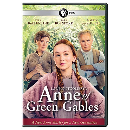 Anne Of Green Gables (2016) Ballentine Sheen Botsford DVD G