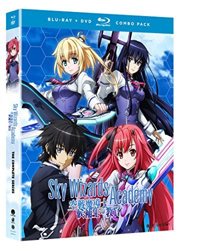 Sky Wizards Academy The Complete Series Blu Ray DVD Nr