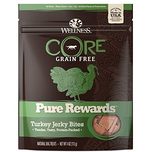 Wellness Pure Re Turkey 6oz Wellness Grain Free Treats For Dogs Pure Rewards Turkey Jerky 6 Ounce Pouch