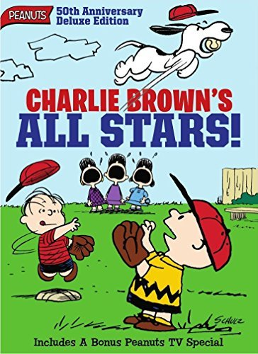 Peanuts Charlie Brown's All Stars DVD 50th Anniversary Edition