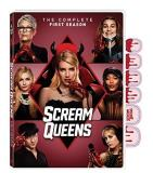 Scream Queens Season 1 DVD Exclusive Packaging W Press On Fingernails