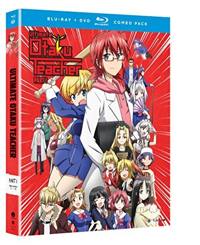 Ultimate Otaku Teacher Season 1 Part 1 Blu Ray DVD Nr