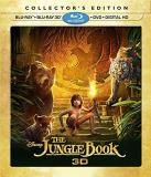 Jungle Book (2016) Jungle Book 3d Blu Ray DVD Dc Pg