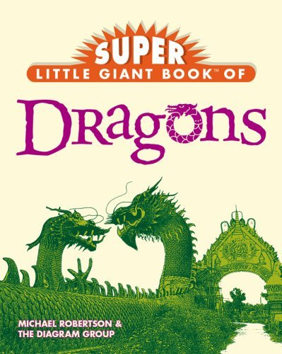 Michael Robertson Super Little Giant Book Of Dragons