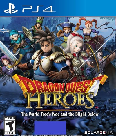 Ps4 Dragon Quest Heroes World Trees Woe & Blight Below
