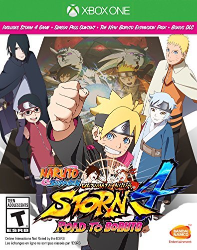 Xbox One Naruto Shippuden Ultimate Ninja Storm 4 Road To Boruto