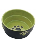 Fresco Dog Dish 5in Green Fresco Dog Dish 5in Green 36