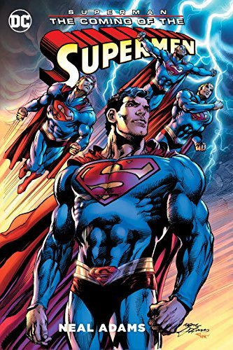 Neal Adams Superman The Coming Of The Supermen