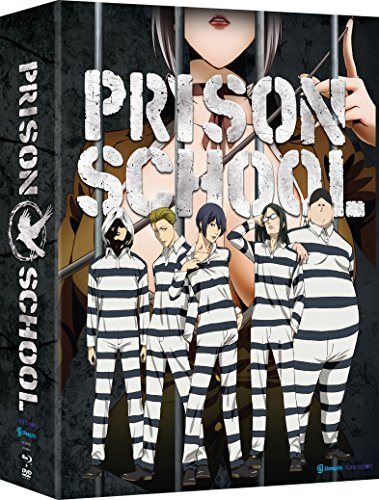 Prison School Complete Series Blu Ray DVD Adult Content