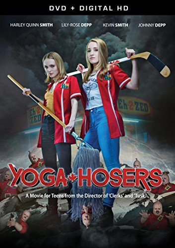 Yoga Hosers Depp Smith Depp DVD Dc Pg13