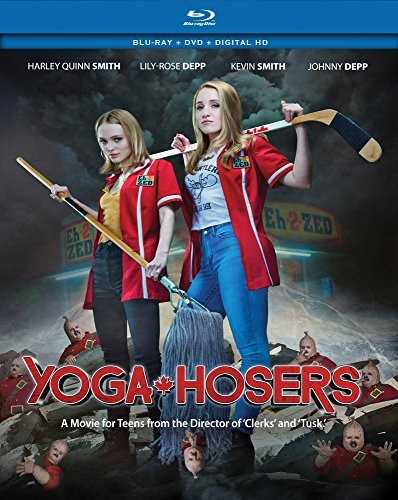Yoga Hosers Depp Smith Depp Blu Ray DVD Pg13