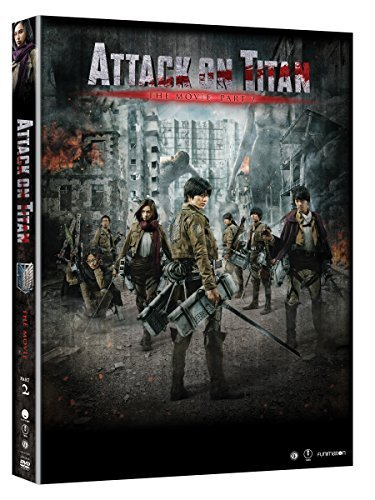 Attack On Titan The Movie Part 2 DVD Nr