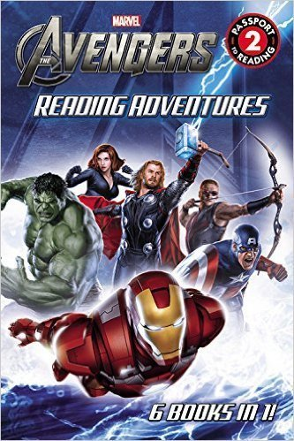 Thomas Palacios Marvel's The Avengers Reading Adventures Passport To Reading Level 2