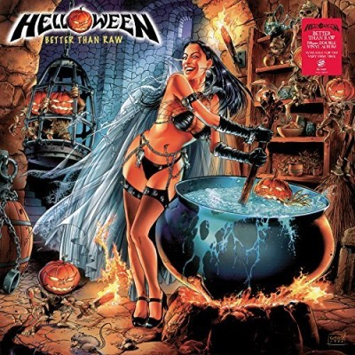 Helloween Better Than Raw 2 Lp Set 180 Gram Vinyl