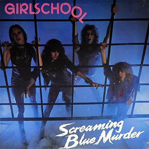 Girlschool Screaming Blue Murder Import Gbr