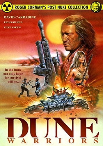 Dune Warriors Hill Carradine DVD R