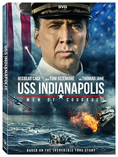 Uss Indianapolis Men Of Courage Cage Sizemore Jane DVD R