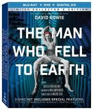 Man Who Fell To Earth Bowie Torn Blu Ray DVD Dc R