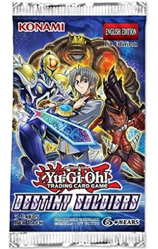 Yu Gi Oh Cards Destiny Soldiers Booster Pack