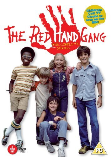 The Red Hand Gang Complete Series Pal Region 2