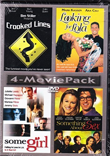 4 Movie Pack Crooked Lines Looking For Lola Some Girl Something About Sex