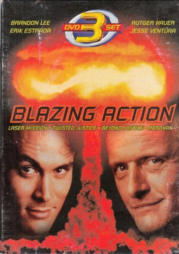 All Actors Include Brandon Lee Jesse Ventura Oma Blazing Action 3 DVD Set Includes These Videos Be