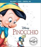 Pinocchio Disney Blu Ray DVD Dc G Signature Edition