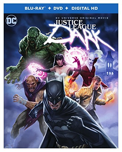 Justice League Dark Justice League Dark Blu Ray DVD Dc